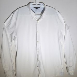 Brooks Brothers White Long Sleeve Casual Shirt XXL